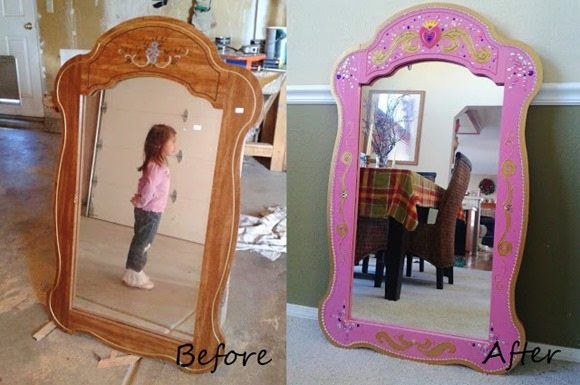 mirror for a little princess