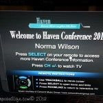 Haven Conference 2013-the details
