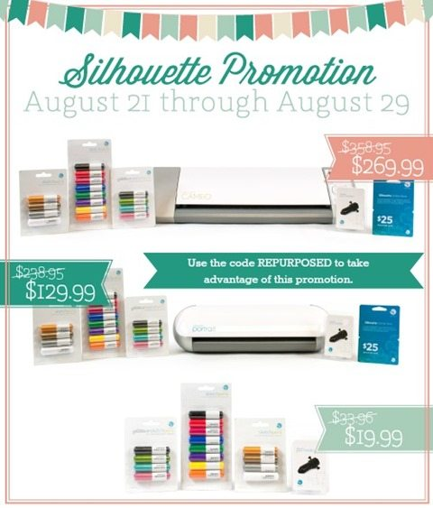 Silhouette August Promotion-Sketch Pens