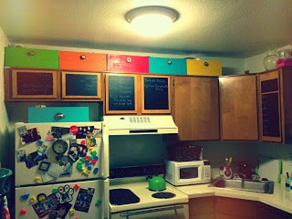 adding storage to an apartment kitchen