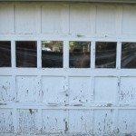 Chippy Garage door with Lead Paint