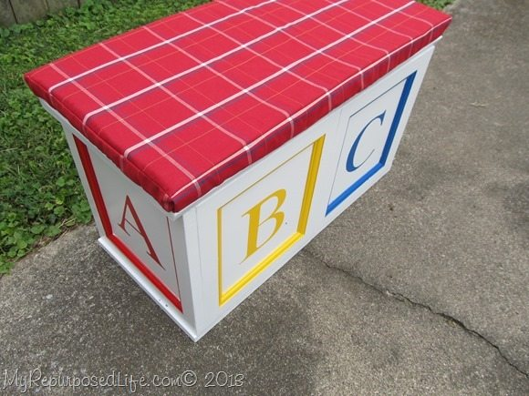 how to make an abc block toy box