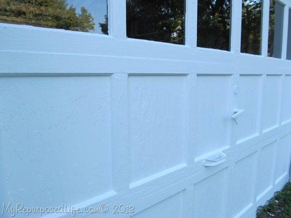 painted chippy door