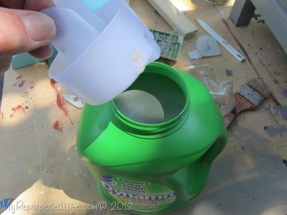 replace the spout for easy pouring