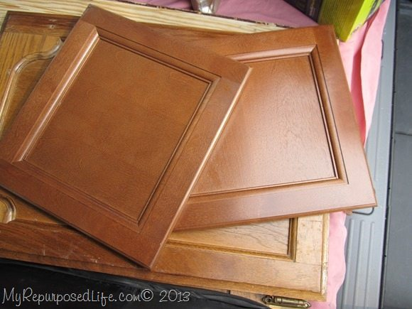 Easy DIY Planter made from Cabinet Doors - My Repurposed Life™