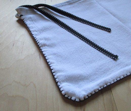 reusable bags from flour sacks