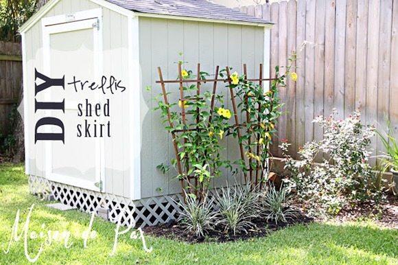 shed trellis