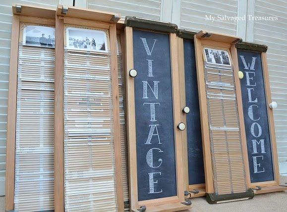 vintage drawers