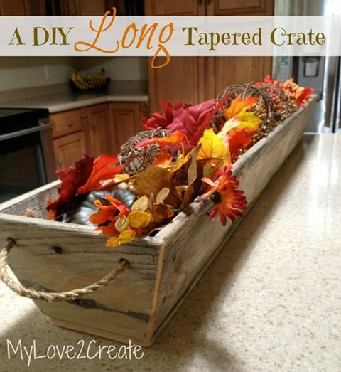 MyLove2Create long tapered crate