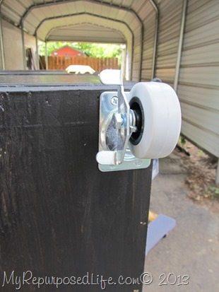 adding-wheels-cabinet