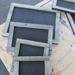 Small Rustic Chalkboards