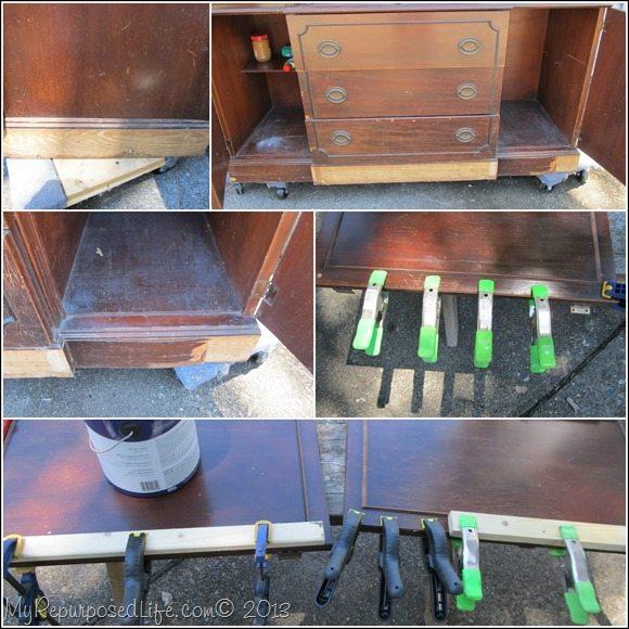 fixing bad veneer