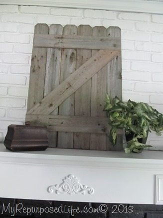staging a mantel