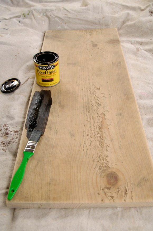 Staining-scrap-board