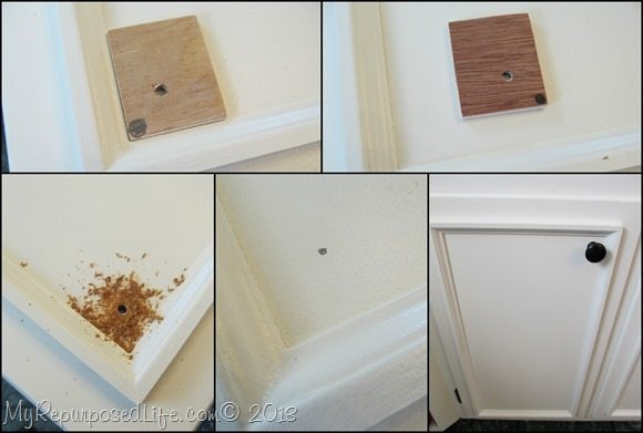 add molding to kitchen cabinets 1