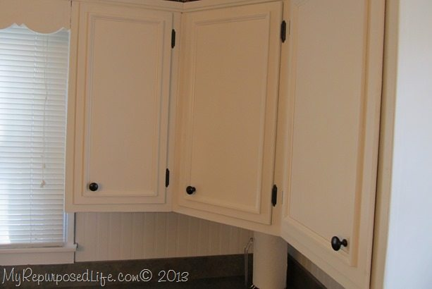 kitchen cabinets updated with paint trim my repurposed