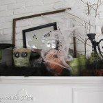 Krylon {mystery box} Halloween Mantel