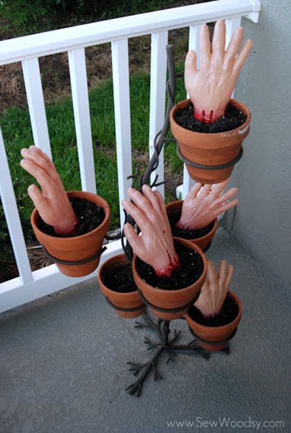halloween-zombie-hands-planter-tutorial