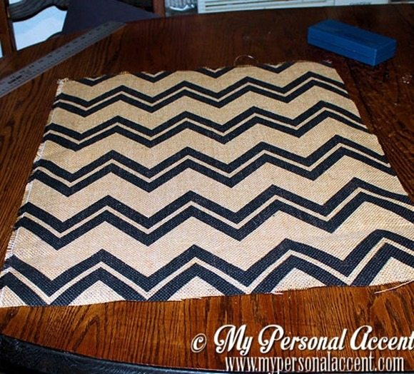how-to-diy-chevron-bulletin-board