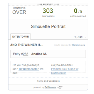 Silhouette Portrait Winner for October 2013