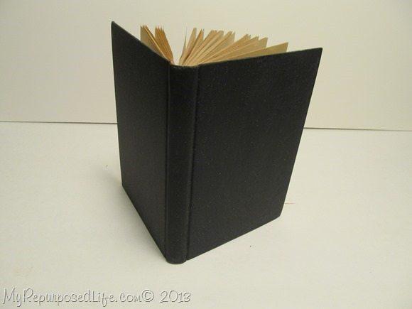 vintage book chalkboard