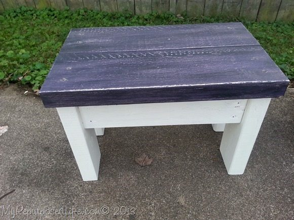 Easy 2x4 Bench Stool Tutorial My Repurposed Life