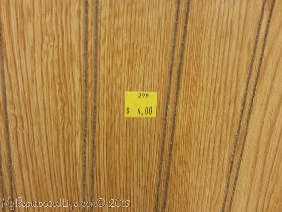 thrift store bead board paneling