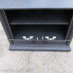Repurposed tv Console