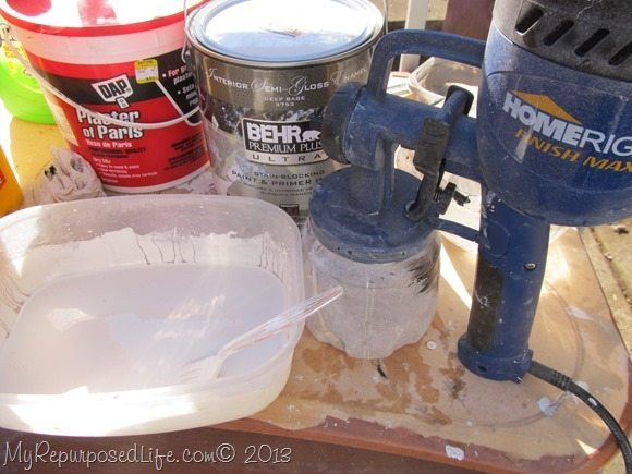 diy chalk paint as a primer