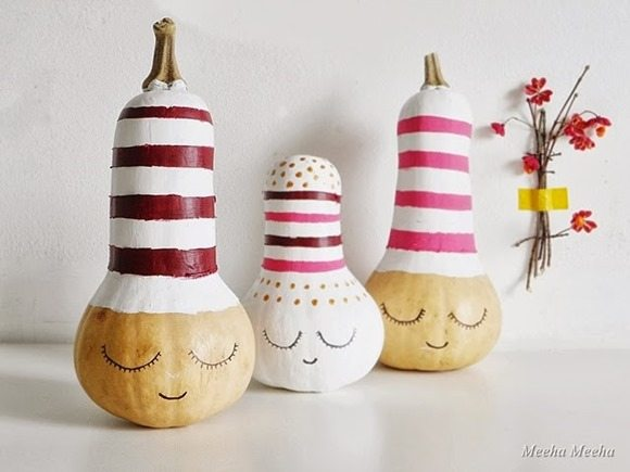 diy sleepy pumpkins