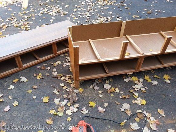 cut dresser repurposed