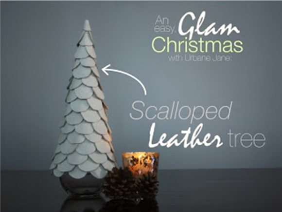 leather-scalloped-Christmas-tree