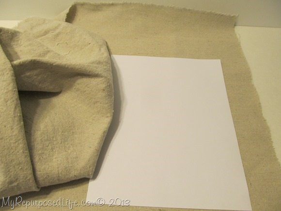 printing on drop cloth fabric