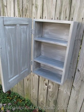 small reproduction shaving cabinet