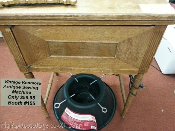 thrift store vintage kenmore sewing machine