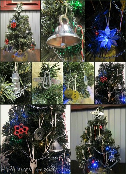Diy Hardware Christmas Tree Decor My Repurposed Life 174