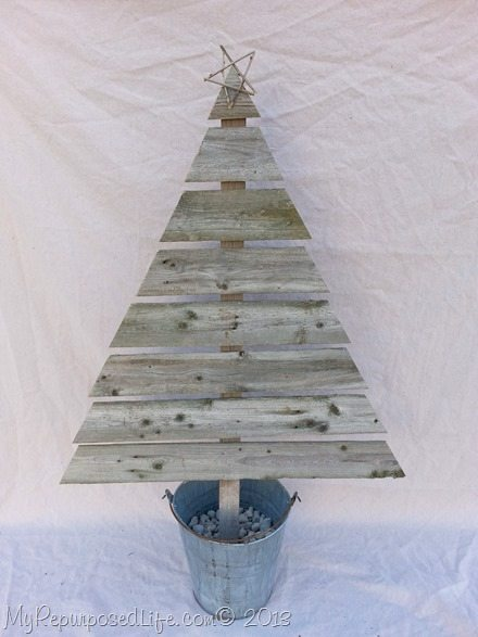 reclaimed wooden christmas tree - Wood Christmas Tree