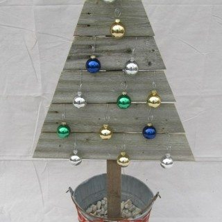 Reclaimed Wood Christmas Trees