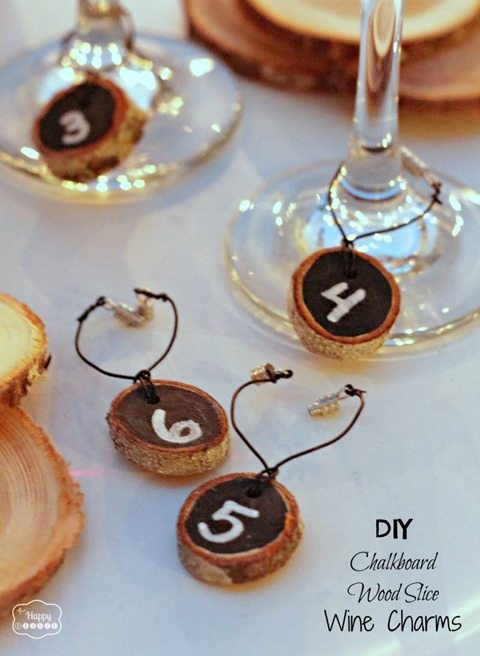 DIY-Chalkboard-Wood-Slice-Wine-Charms