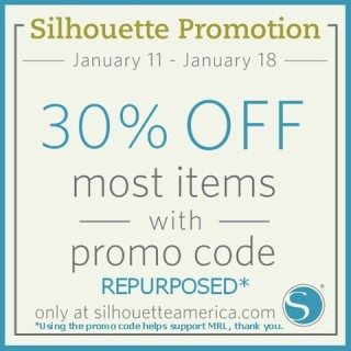 Silhouette America January (CHA) Promotion