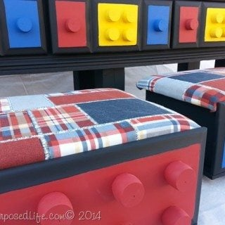 DIY Lego Table {repurposed dresser}