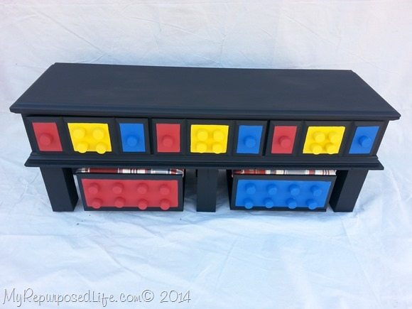 Diy lego table repurposed dresser my repurposed life make your own lego table solutioingenieria Image collections