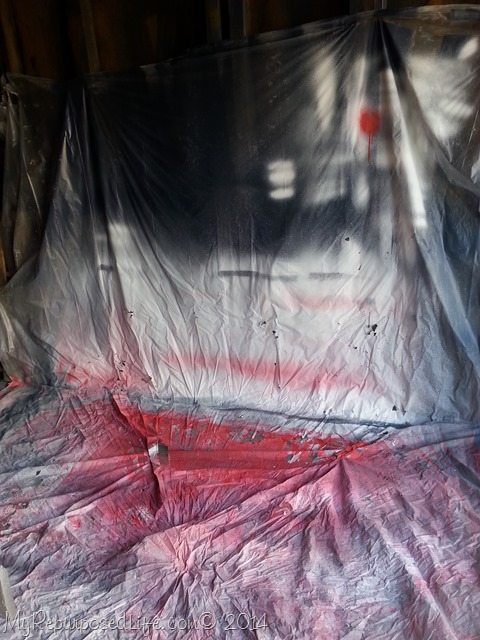 plastic-drop-cloth-paint-booth