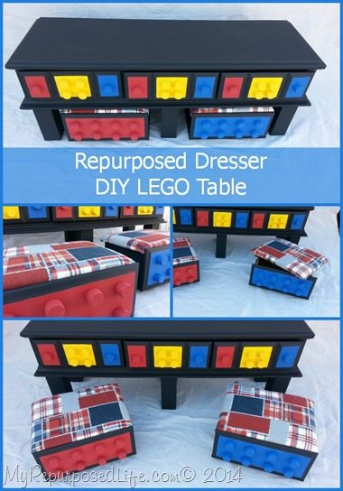Diy lego table repurposed dresser my repurposed life my repurposed life diy lego table made from an old dresser solutioingenieria Image collections