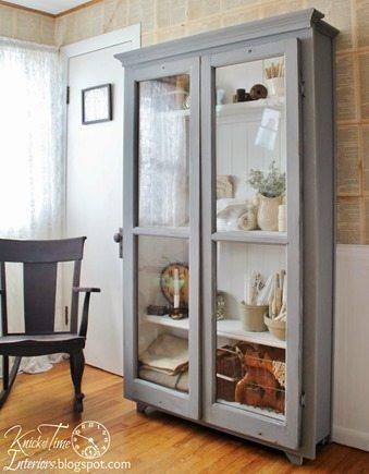 repurposed-windows-antique-style-cabinet