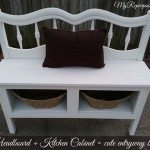 Kitchen Cabinets headboard bench