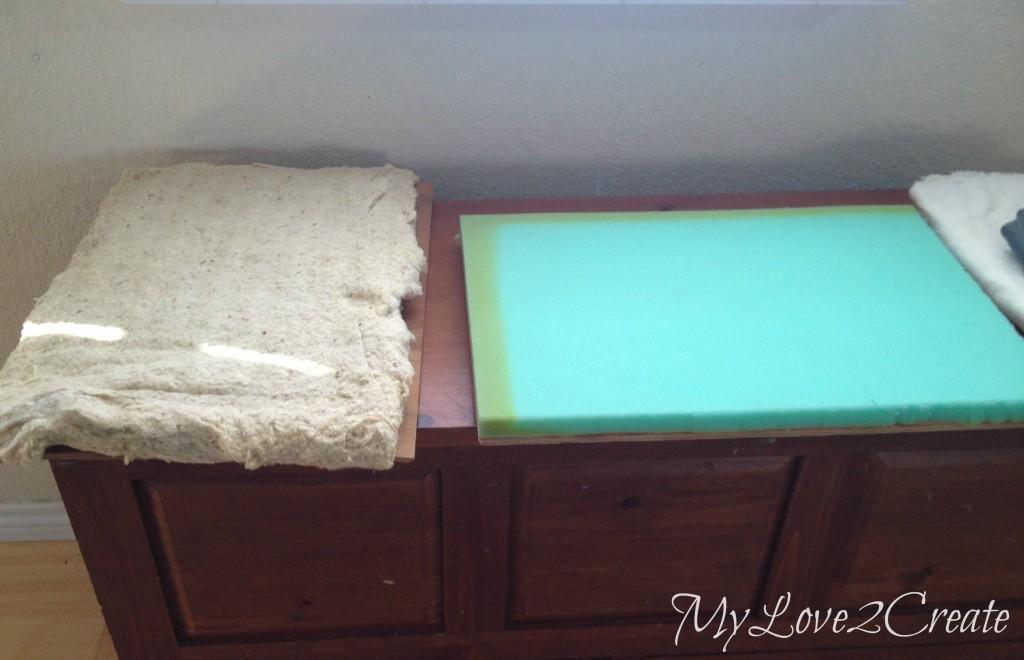 seat foam and padding