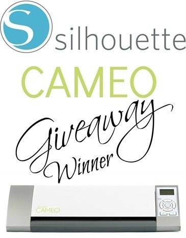 Silhouette-CAMEO-Giveaway-winner