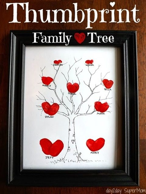 valentine-thumbprint-family-tree