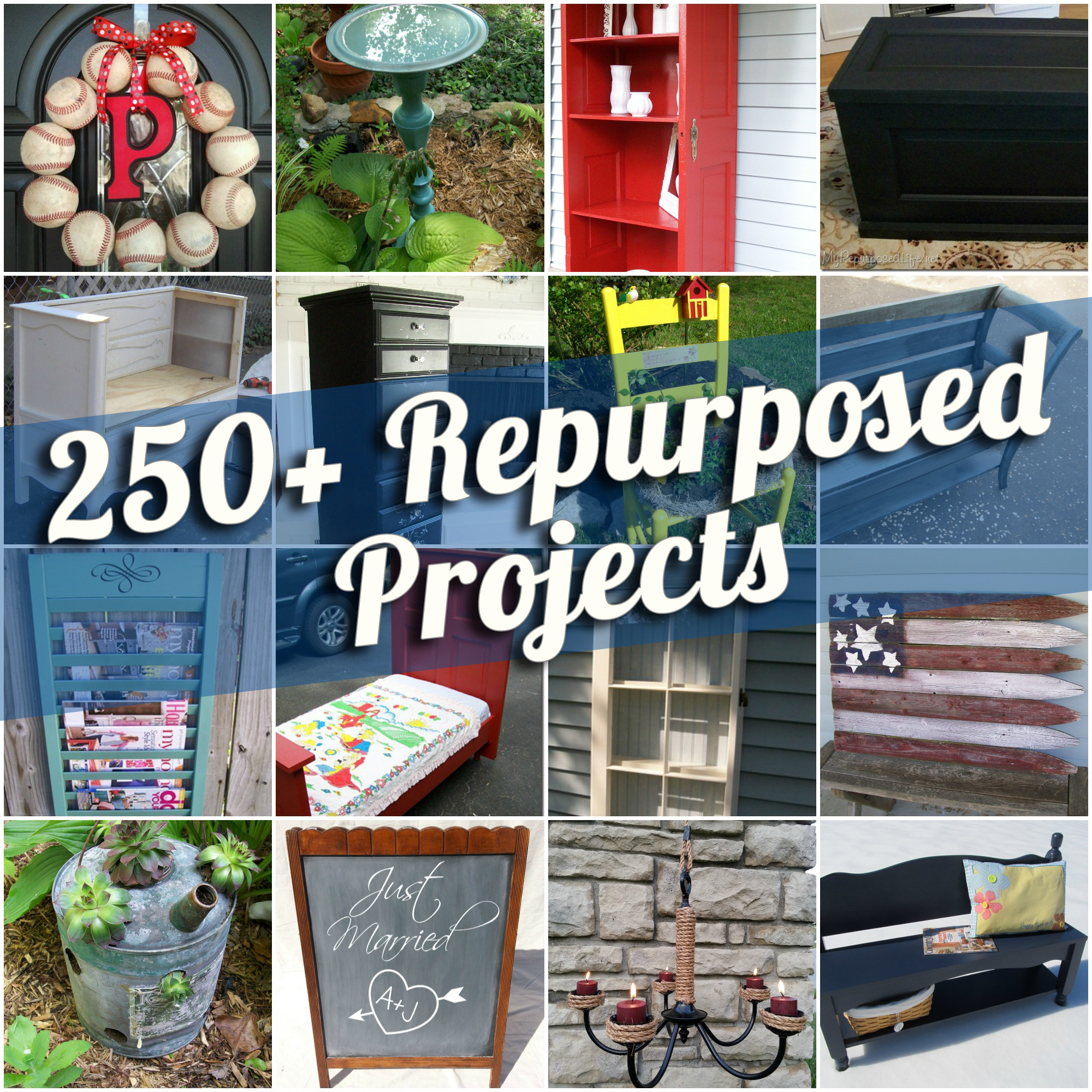 Diy Repurposed Furniture Ideas 250+ repurposed projects